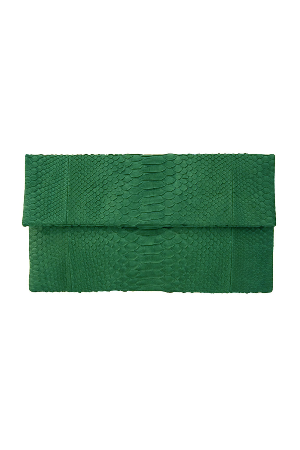 Primary New York Python Prime Clutch Kelly Green