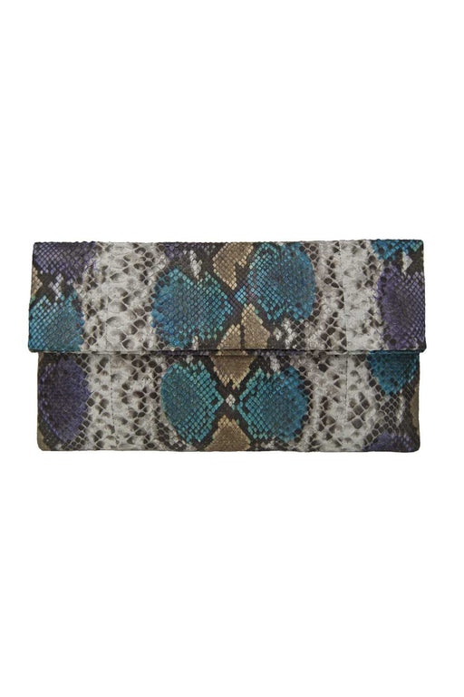Primary New York Prime Python Clutch Mer