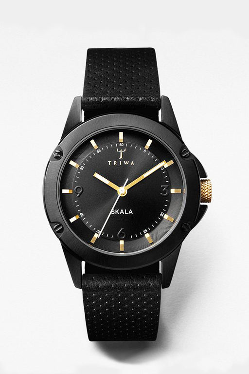 TRIWA Midnight Skala Watch - Primary New York