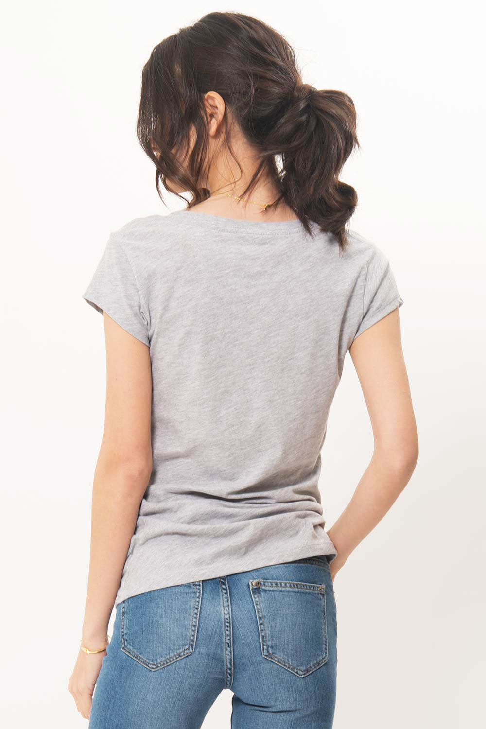 V-Neck Tee - Primary New York