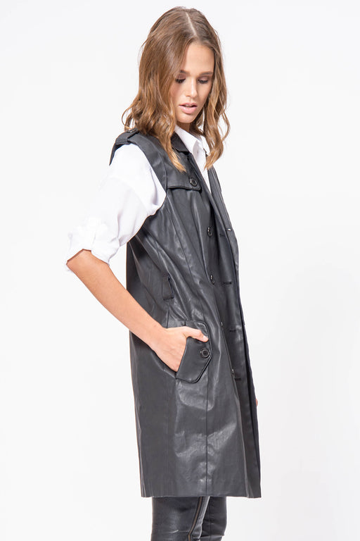 Onyx Trench Vest - Primary New York