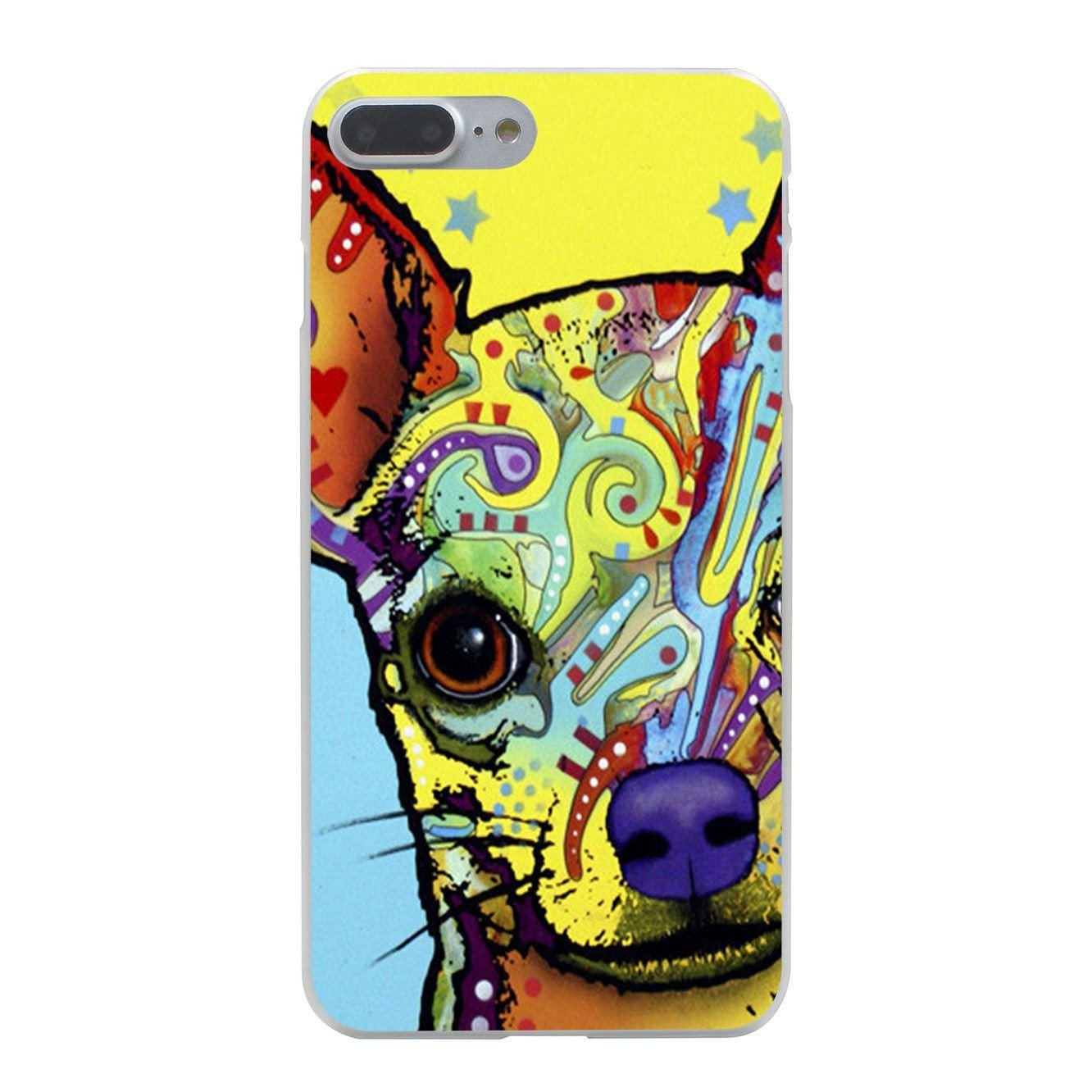Coloré Designer Chihuahua iPhone Case-Themed Gifts-Pets Hub Home