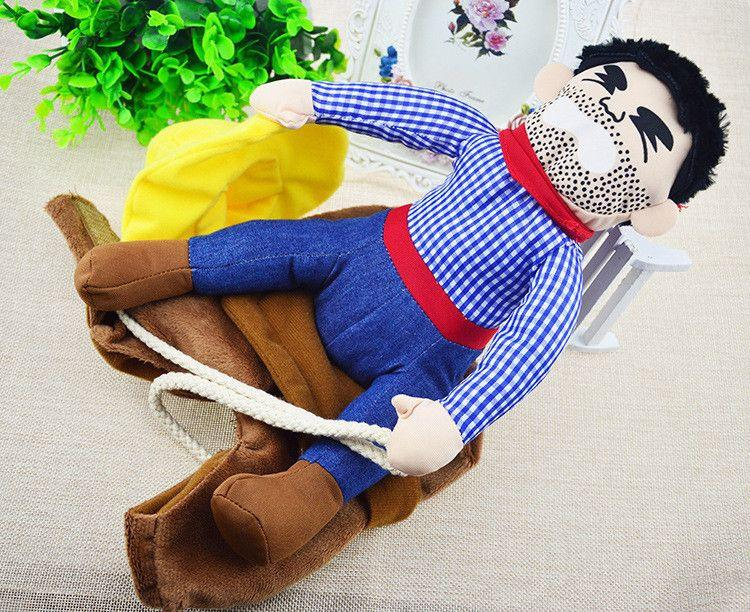 Cowboy Rider Dog Costume Suit-Toys-Pets Hub Home