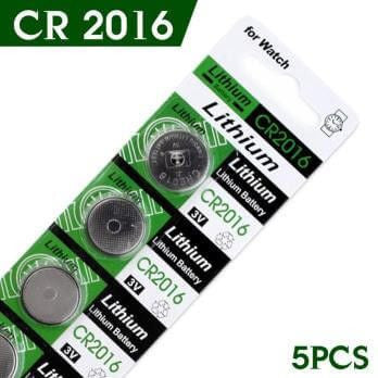 CR2016 battery for LED Dog Accessories-Safety-Pets Hub Home