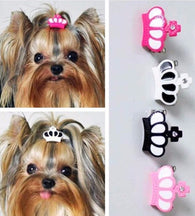 Crown Hair Clips for Dogs - 2 Pcs-Accessories-Pets Hub Home
