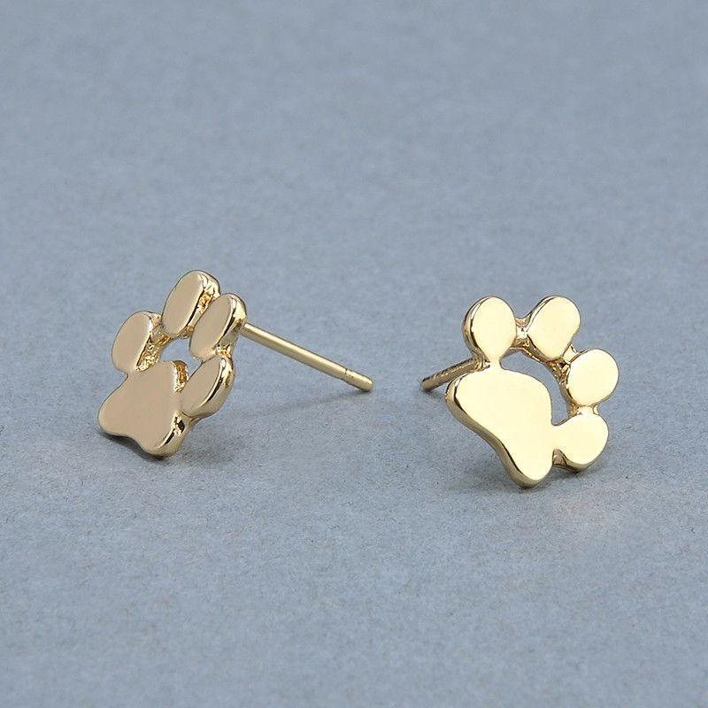 Cute Paw Earrings Fashion Jewelry-Themed Gifts-Pets Hub Home