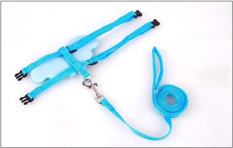 Designer Angel Wing Dog/puppy Leash and Collar Adjustable Harness Set-Safety-Pets Hub Home