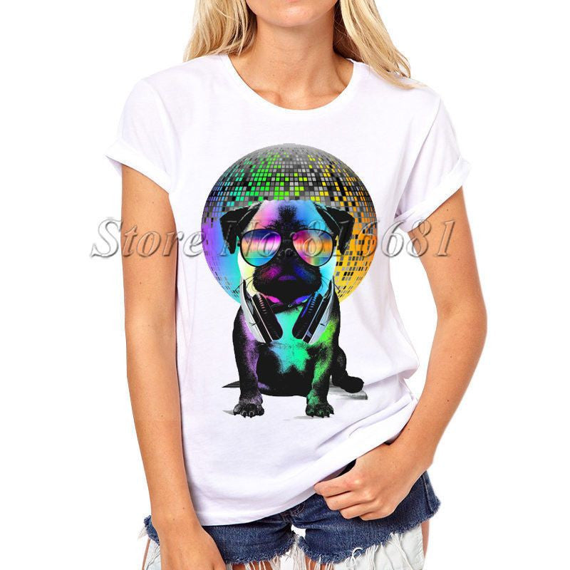 Dog Printed Swag T-shirts-Themed Gifts-PX059-S-Pets Hub Home