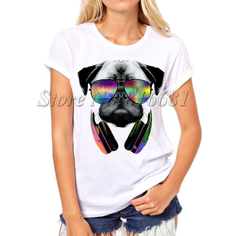 Dog Printed Swag T-shirts-Themed Gifts-PX061-S-Pets Hub Home