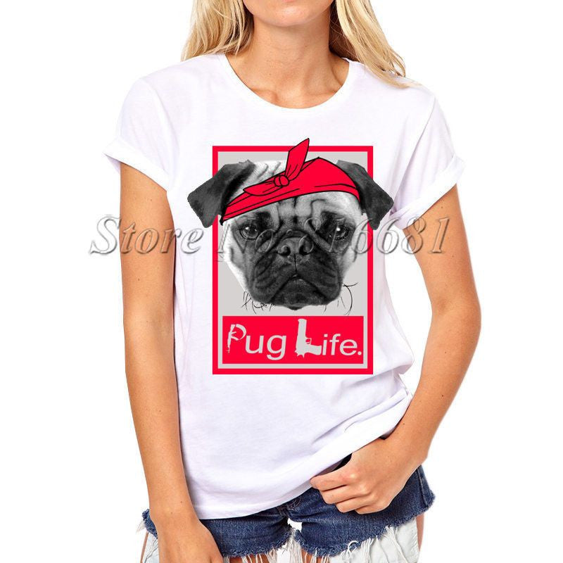 Dog Printed Swag T-shirts-Themed Gifts-PX062-S-Pets Hub Home