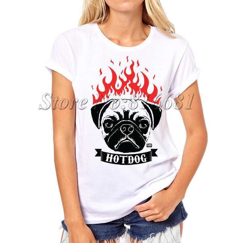 Dog Printed Swag T-shirts-Themed Gifts-PX063-S-Pets Hub Home