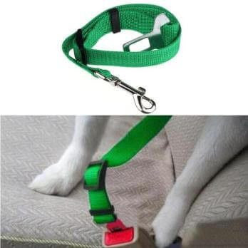 Dog Safety Car Seat Belt-Safety-Green-XL-Pets Hub Home