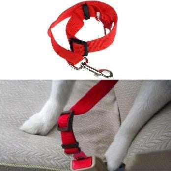 Dog Safety Car Seat Belt-Safety-Red-XL-Pets Hub Home
