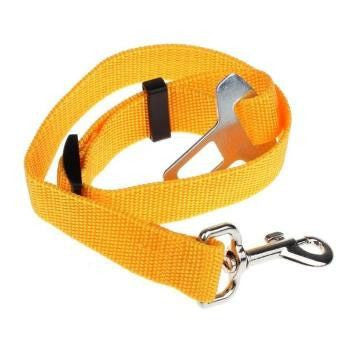 Dog Safety Car Seat Belt-Safety-Yellow-XL-Pets Hub Home