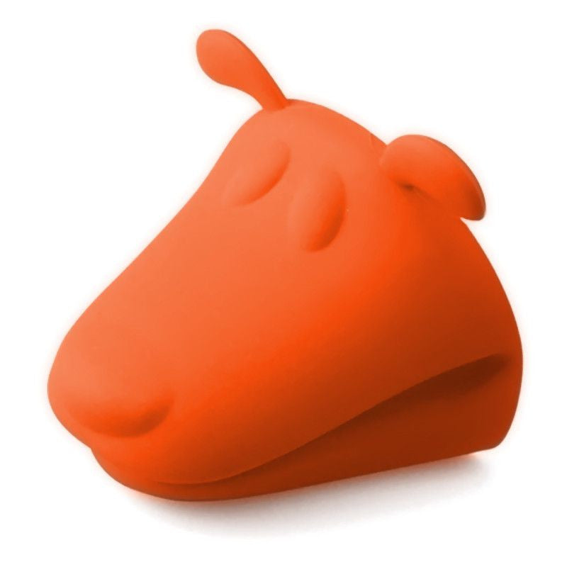 Dog Shaped Heat Resistant Silicone Kitchen Glove - 2 Pack-Themed Gifts-2 Orange-Pets Hub Home