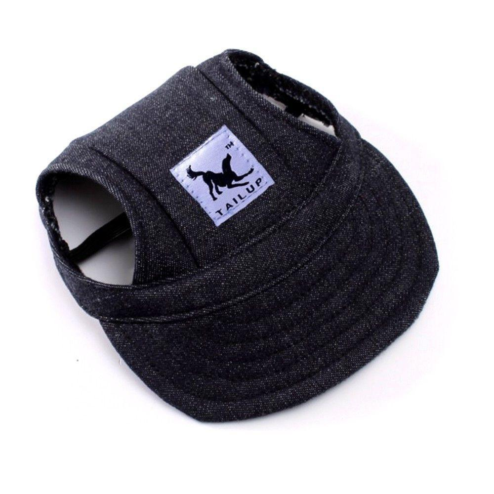 Dog Sport Hat / Baseball Cap - Protection with Style!-unique-Black-S-Pets Hub Home