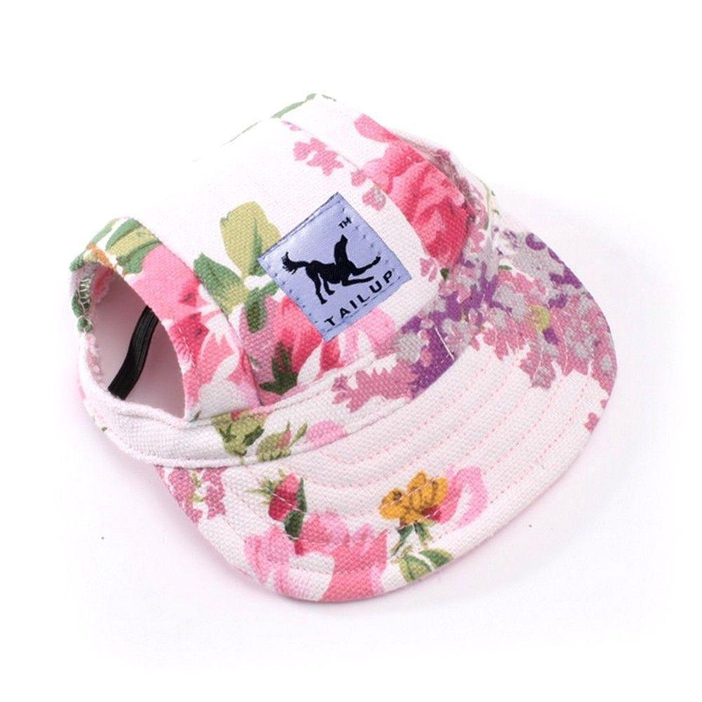 Dog Sport Hat / Baseball Cap - Protection with Style!-unique-Flower-S-Pets Hub Home