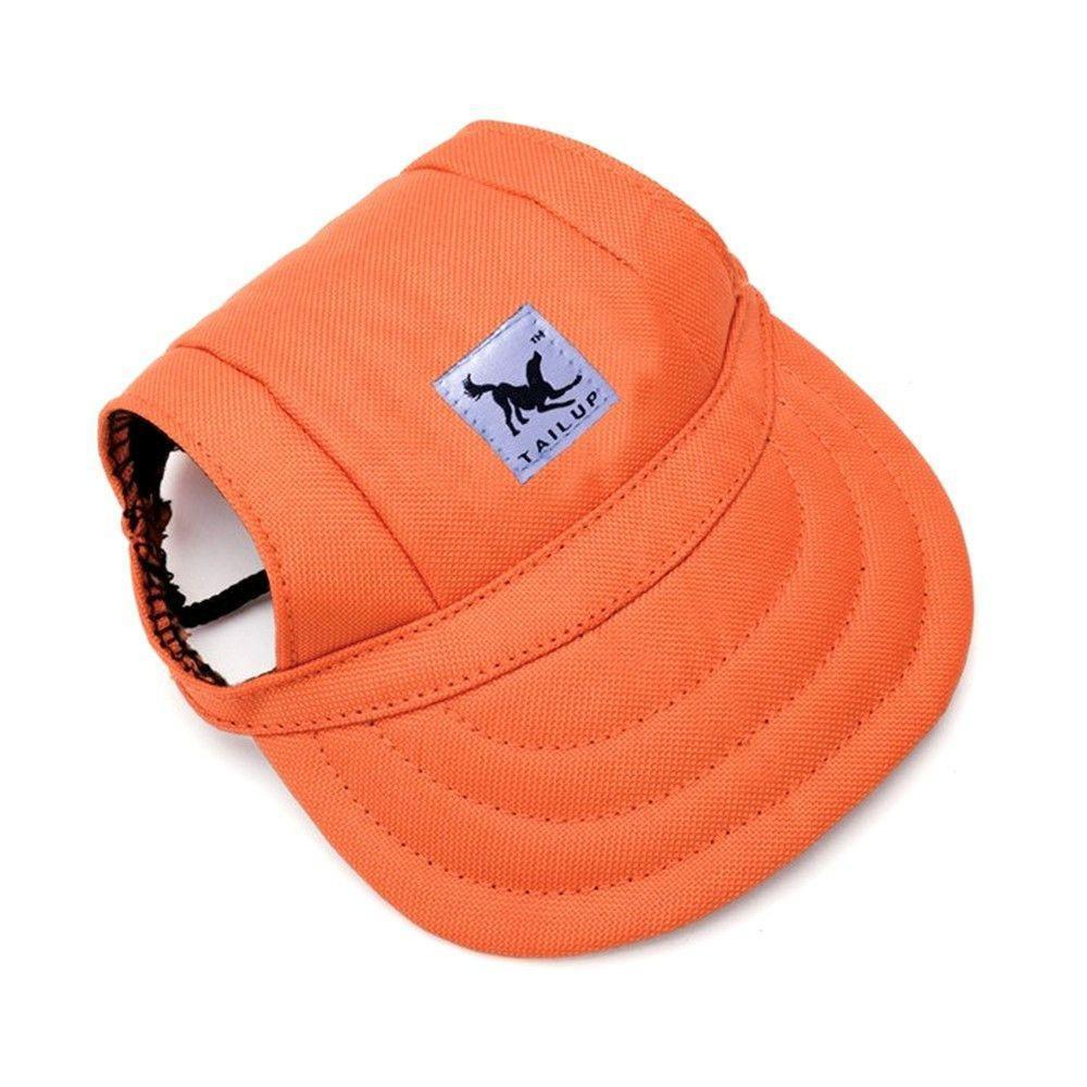 Dog Sport Hat / Baseball Cap - Protection with Style!-unique-Orange-S-Pets Hub Home