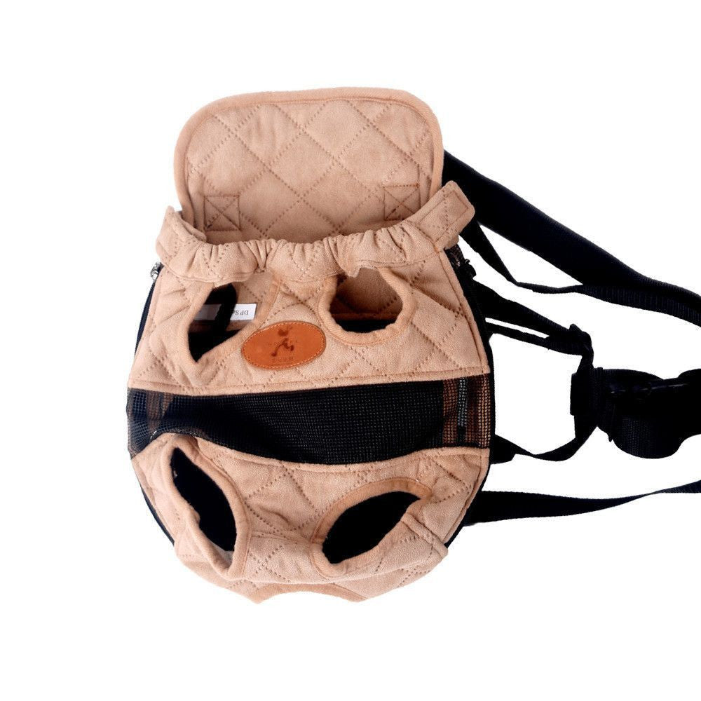 Dog/Puppy Breathable Carrier-Accessories-Beige-S-Pets Hub Home