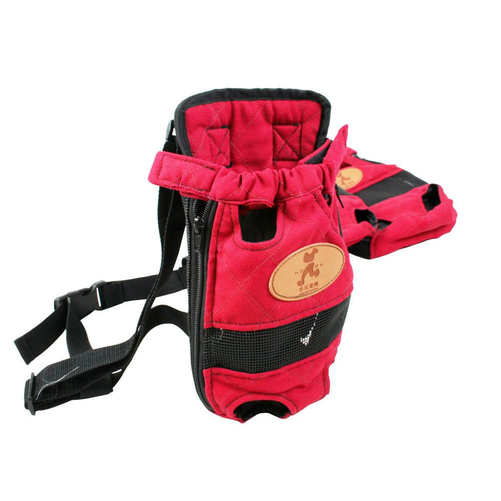 Dog/Puppy Breathable Carrier-Accessories-Red-S-Pets Hub Home