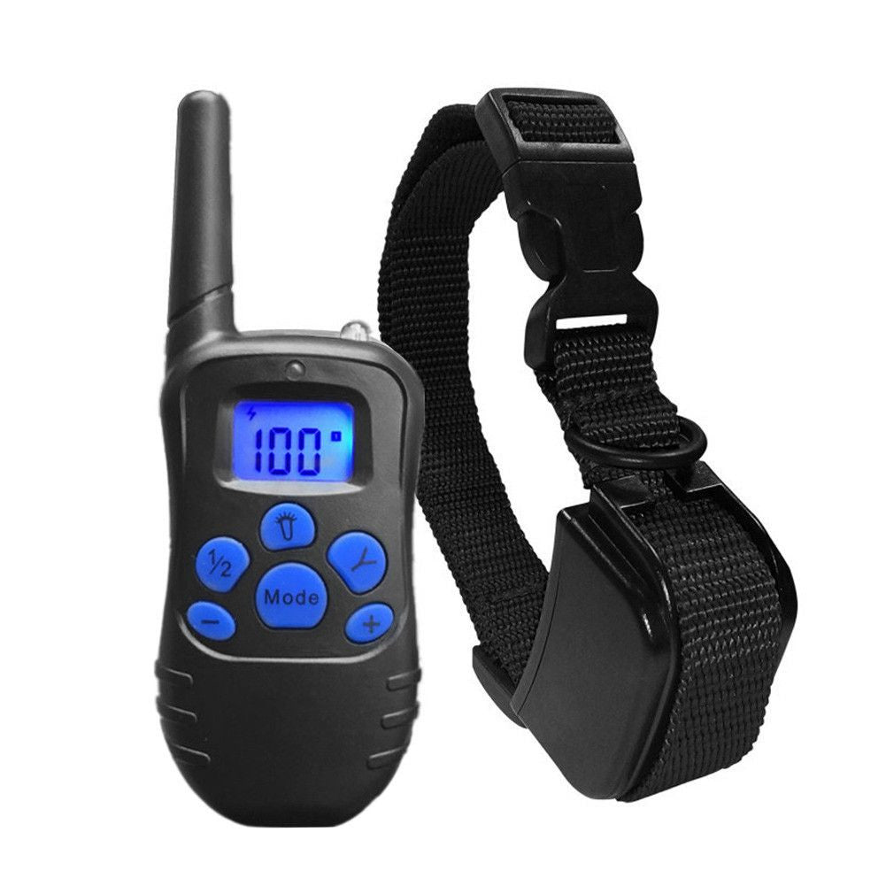 Expandable Remote Trainer 330 Yard-Safety-Black-US Plug-Pets Hub Home