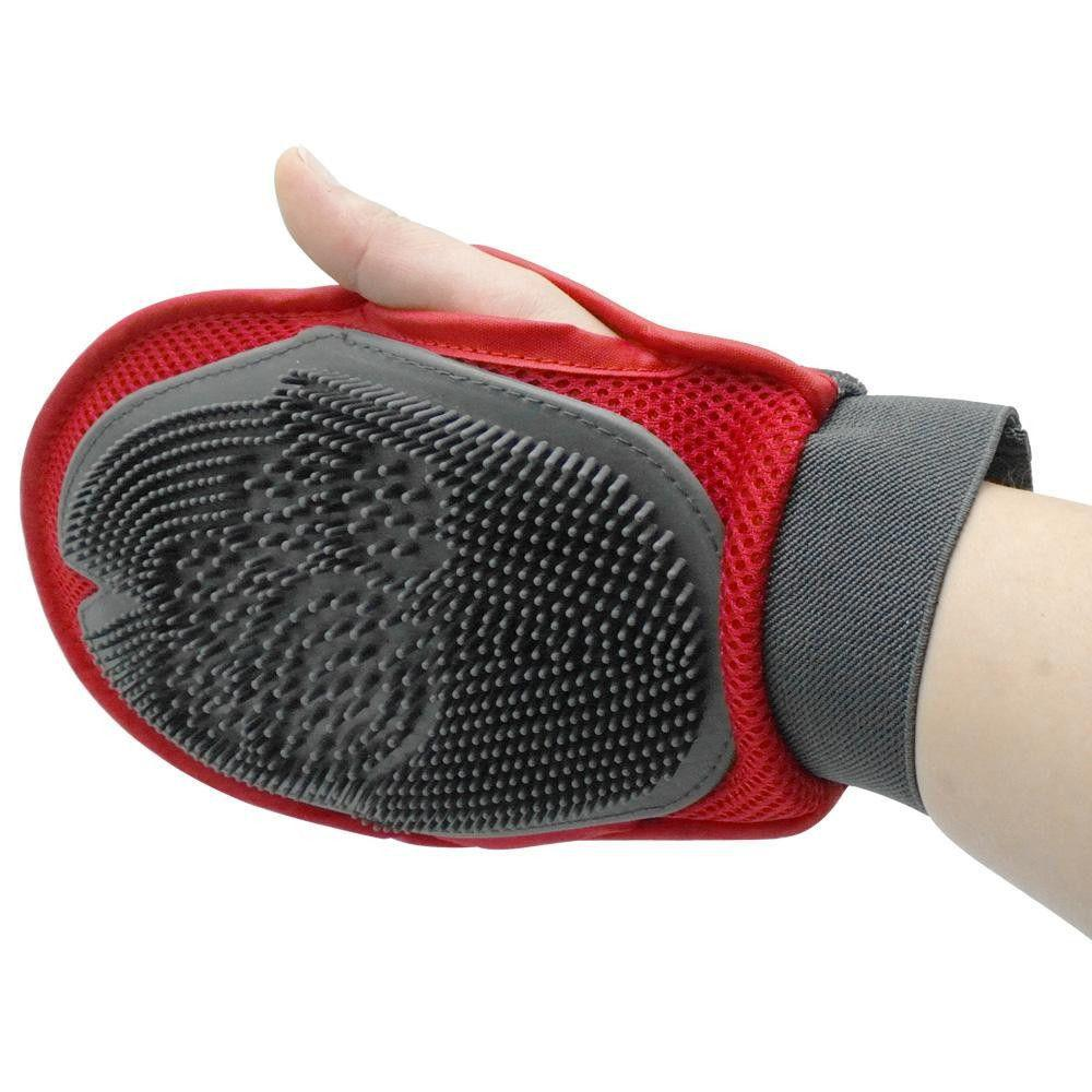 Magic Soft Grooming Dog deShedding & Massaging Glove Brush-Grooming-Pets Hub Home