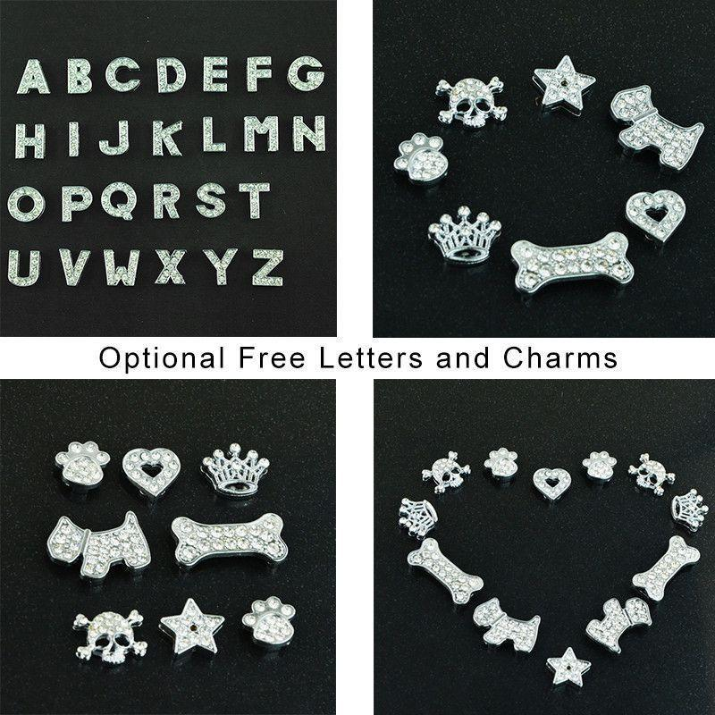Personalized Bling charm Dog/Puppy Collar-Accessories-Pets Hub Home