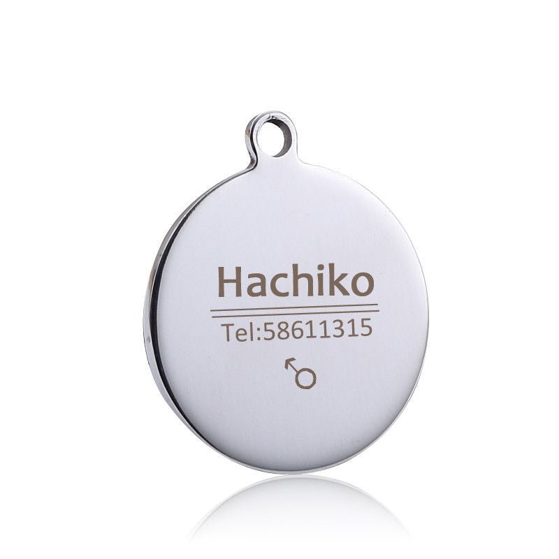 Personalized Stainless Steel Pet ID Tag-Safety-15-S-Pets Hub Home