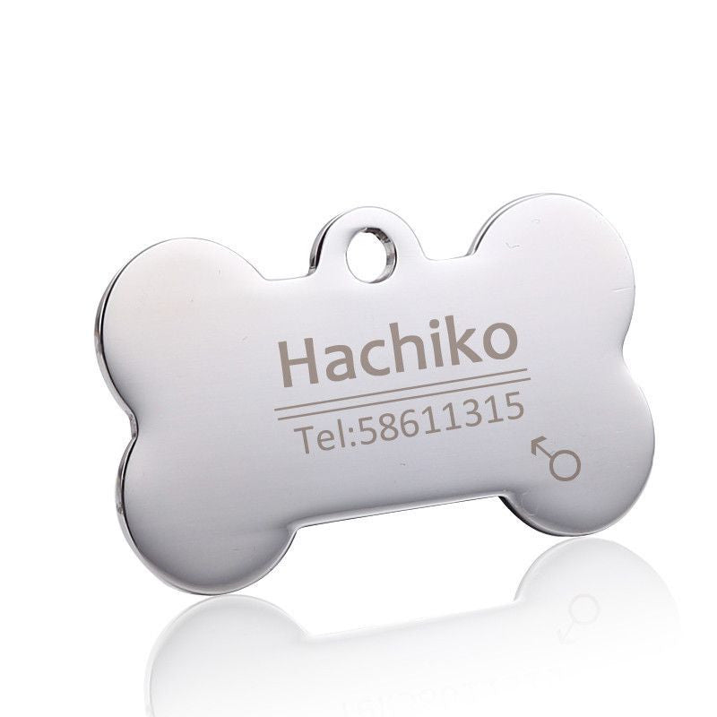 Personalized Stainless Steel Pet ID Tag-Safety-2-S-Pets Hub Home