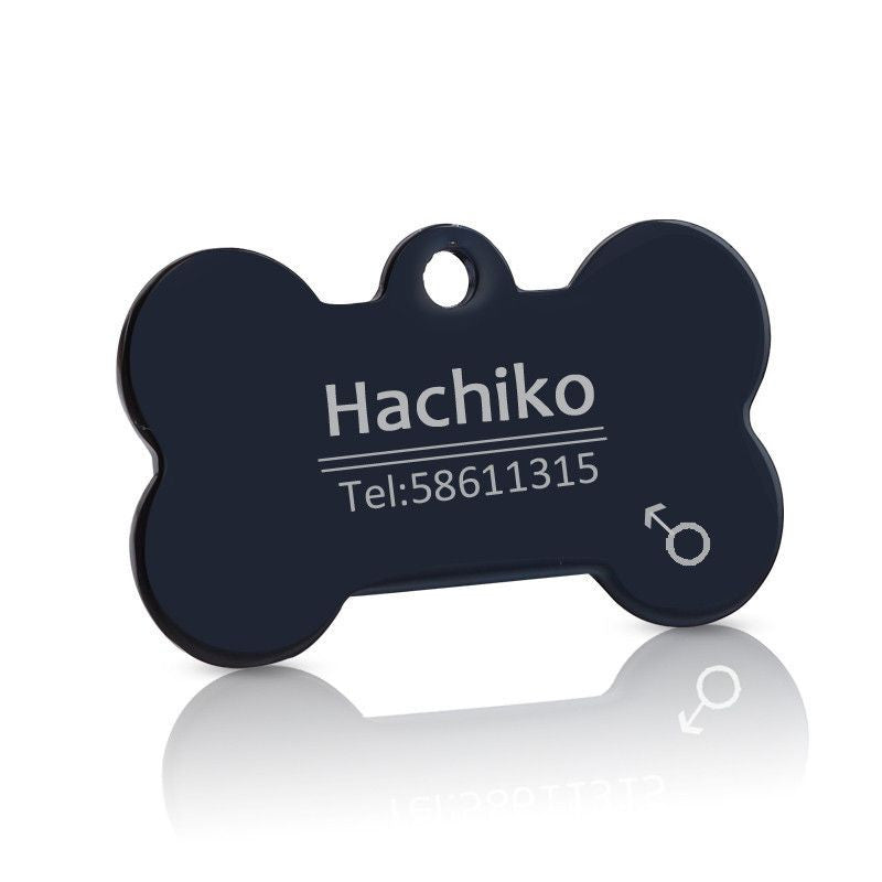 Personalized Stainless Steel Pet ID Tag-Safety-3-S-Pets Hub Home