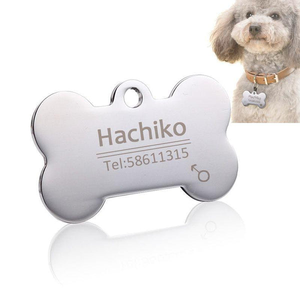 Personalized Stainless Steel Pet ID Tag-Safety-Pets Hub Home