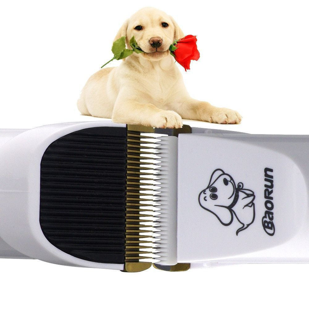 Rechargeable Cordless No Noise Pet Hair Clipper - THE COMPLETE KIT-Grooming-Pets Hub Home