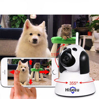 Smart Dog Home Security WiFi IP Camera 720p with Night Vision-Safety-White-Pets Hub Home