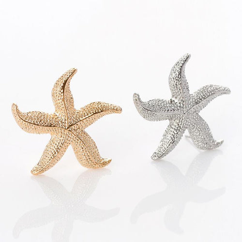 Sweet Starfish Stud Earrings
