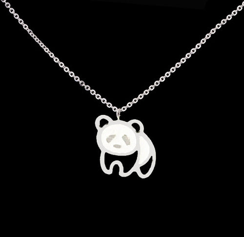 Gold Plated Panda Necklaces