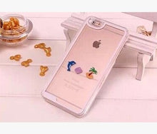 Dynamic Liquid Dolphin Phone Case For iPhone 5, 5 s se, 6, 6s, 6Plus,