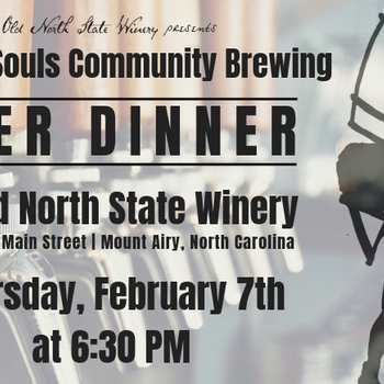 Beer Dinner featuring Thirsty Souls Community Brewing