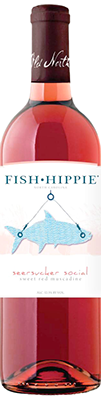 Fish Hippie Seersucker Social Sweet Red Muscadine Case