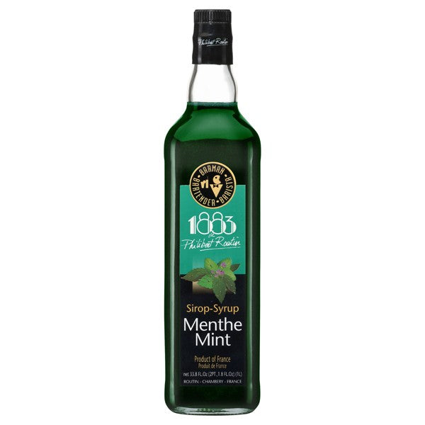 1883 Green Mint Syrup 1000 mL