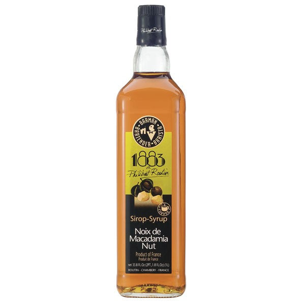 1883 Macadamia Nut Syrup 1000 mL