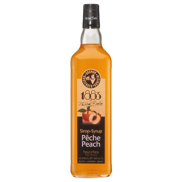 1883 Peach Syrup 1000 mL