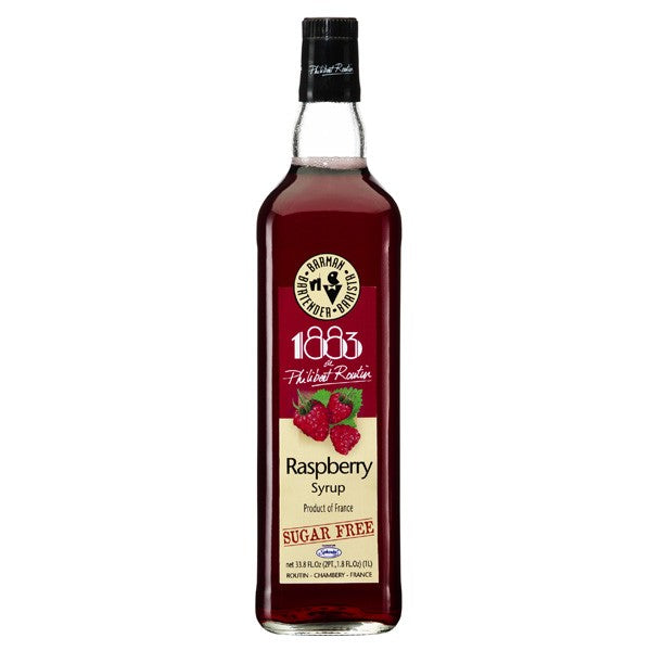 1883 Sugar Free Raspberry Syrup 1000 mL