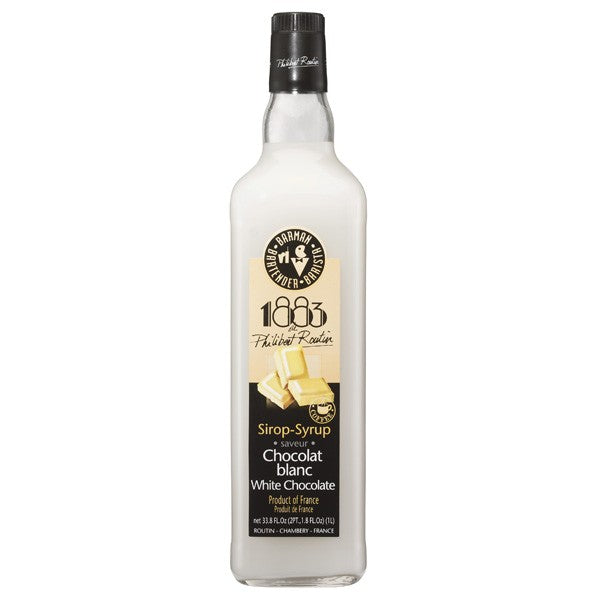 1883 White Chocolate Syrup 1000 mL