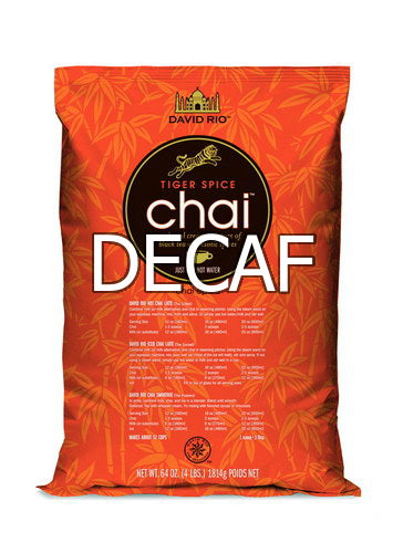 David Rio Tiger Spice Decaf Chai 4lb
