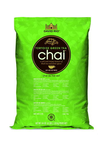 David Rio Green Tortoise Chai 4lb