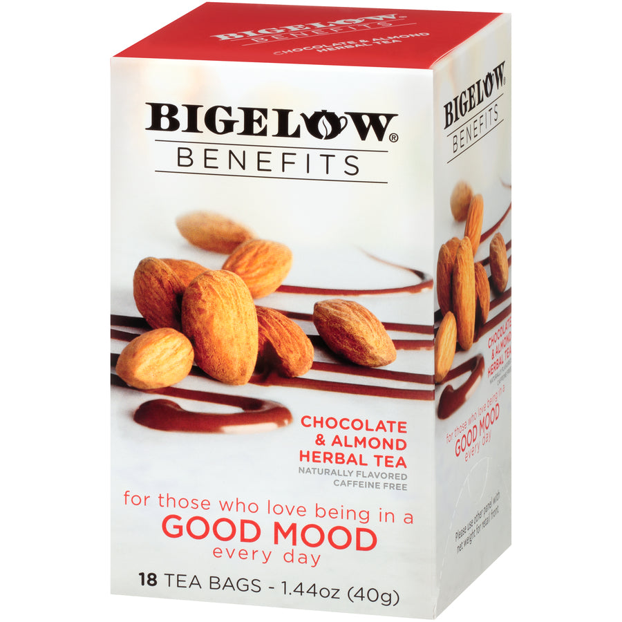 Bigelow Benefits Good Mood Chocolate and Almond Tea 18ct