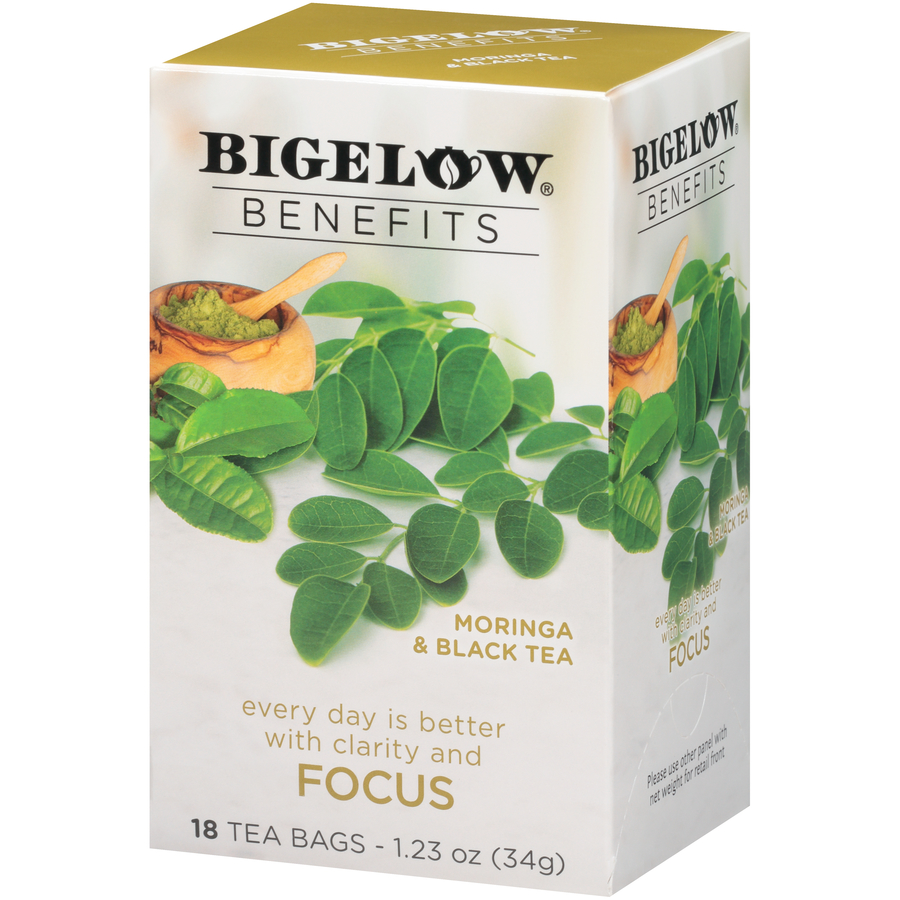 Bigelow Benefits Focus Moringa and Black Tea 18ct