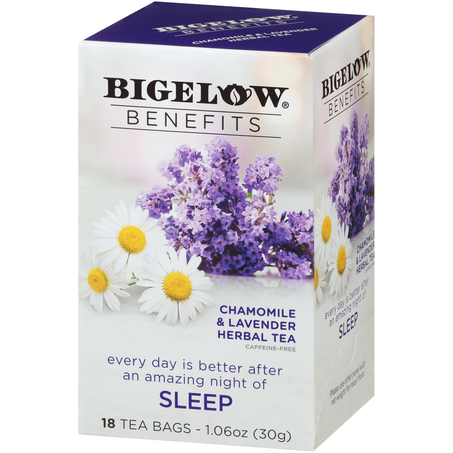 Bigelow Benefits Sleep Chamomile and Lavender Tea 18ct