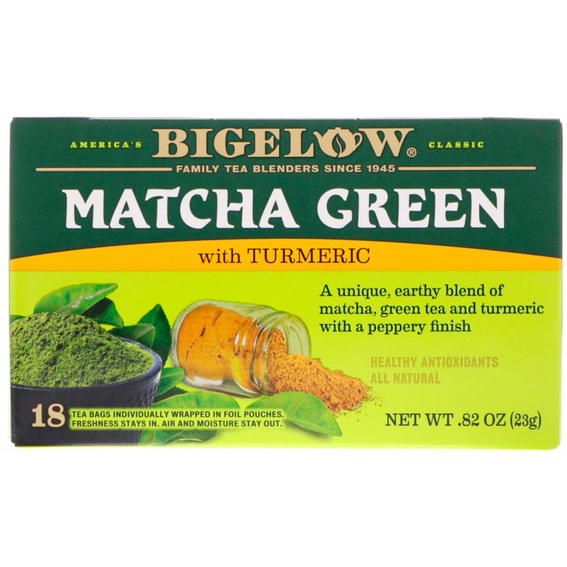 Bigelow Matcha Green with Turmeric Tea 18ct