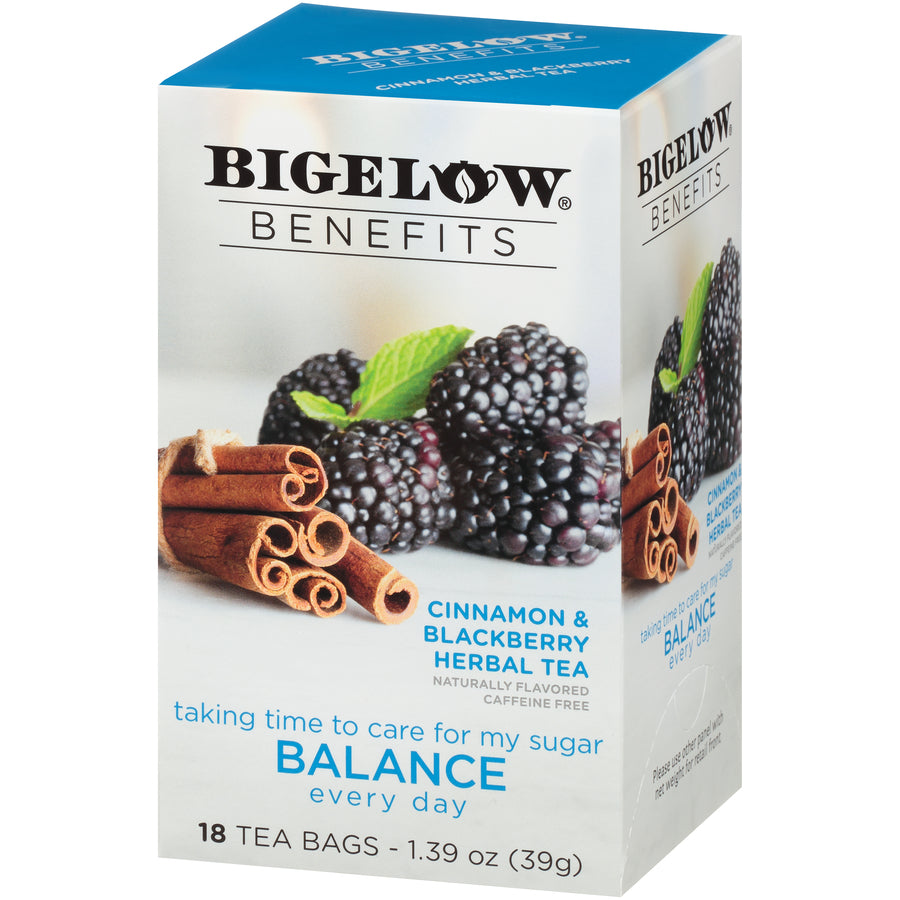 Bigelow Benefits Cinnamon Blackberry Tea 18ct